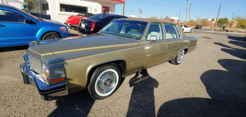 1981 Cadillac DeVille for sale at ACE AUTO SALES in Lake Havasu City AZ