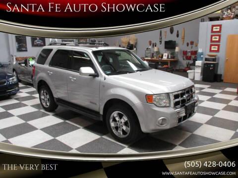 2008 Ford Escape for sale at Santa Fe Auto Showcase in Santa Fe NM