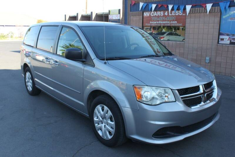 2014 Dodge Grand Caravan for sale at NV Cars 4 Less, Inc. in Las Vegas NV