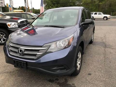 2013 Honda CR-V for sale at TOLLAND CITGO AUTO SALES in Tolland CT