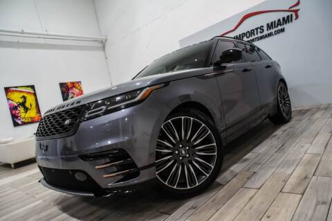 2019 Land Rover Range Rover Velar for sale at AUTO IMPORTS MIAMI in Fort Lauderdale FL