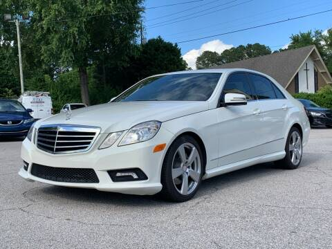2011 Mercedes-Benz E-Class for sale at GR Motor Company in Garner NC