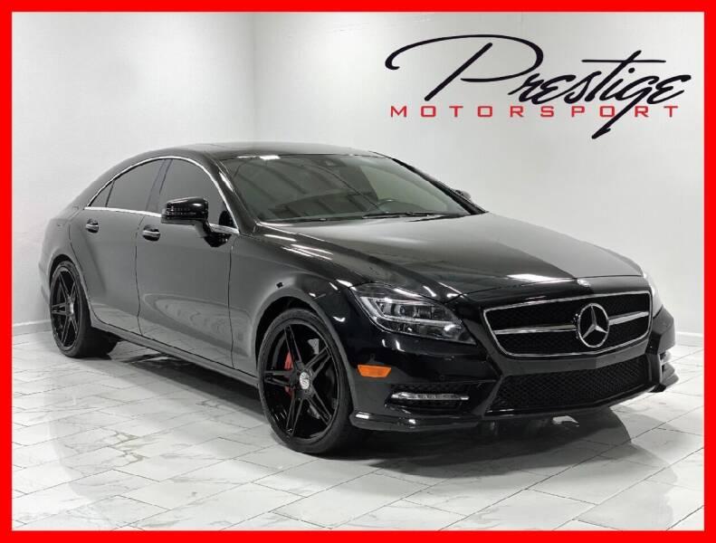2012 Mercedes-Benz CLS for sale at Prestige Motorsport in Rancho Cordova CA