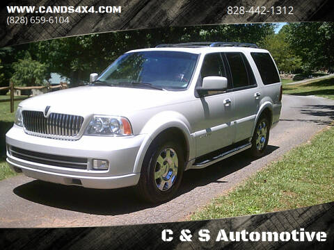 2005 Lincoln Navigator for sale at C & S Automotive in Nebo NC