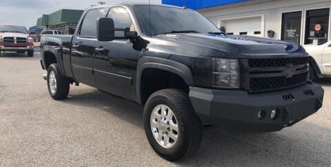 2013 Chevrolet Silverado 2500HD for sale at Perrys Certified Auto Exchange in Washington IN