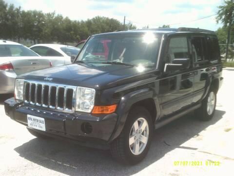 2007 Jeep Commander for sale at ROYAL MOTOR SALES LLC in Dover FL