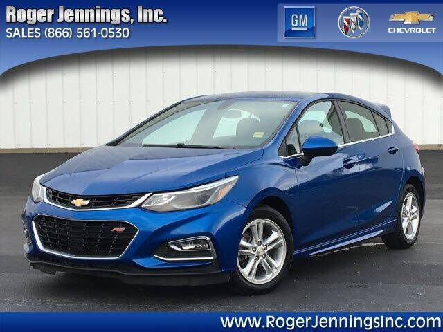 2017 Chevrolet Cruze for sale at ROGER JENNINGS INC in Hillsboro IL