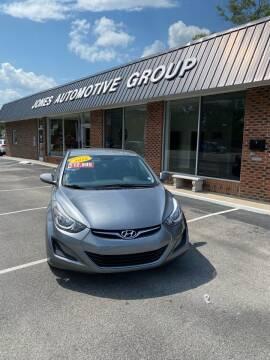 2016 Hyundai Elantra for sale at Jones Automotive Group in Jacksonville NC