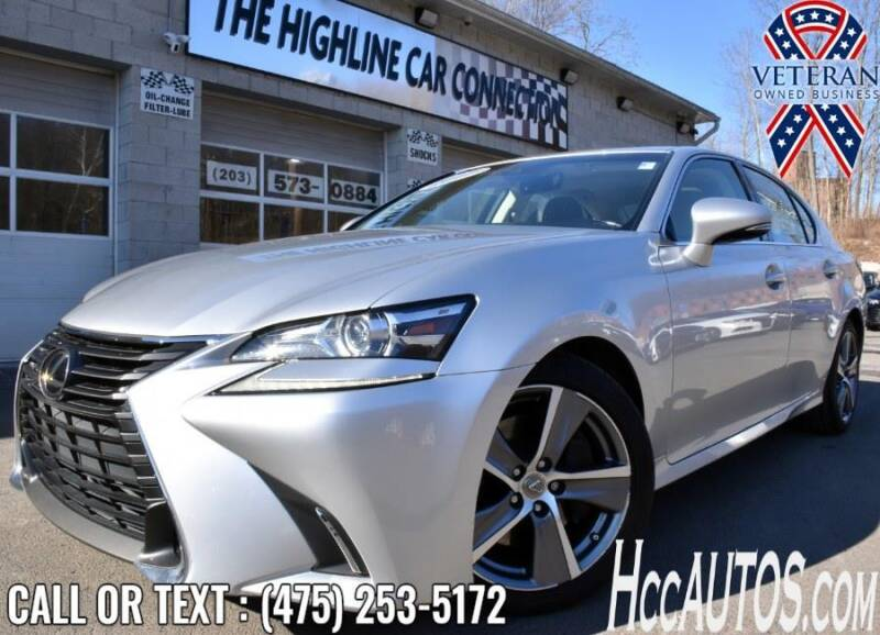 2017 Lexus GS 200t for sale at The Highline Car Connection in Waterbury CT
