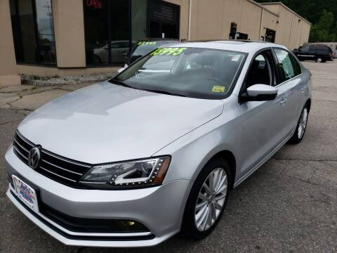 2016 Volkswagen Jetta for sale at Auto Wholesalers Of Hooksett in Hooksett NH