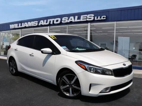 2017 Kia Forte for sale at Williams Auto Sales, LLC in Cookeville TN