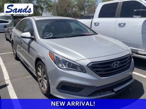 2017 Hyundai Sonata for sale at Sands Chevrolet in Surprise AZ