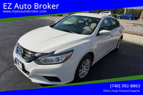 2016 Nissan Altima for sale at EZ Auto Broker in Mount Vernon OH