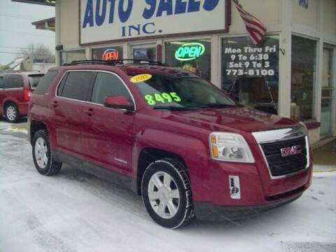 2012 GMC Terrain for sale at G & L Auto Sales Inc in Roseville MI