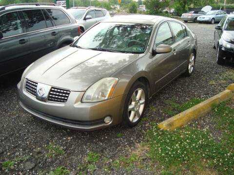 2005 Nissan Maxima for sale at Branch Avenue Auto Auction in Clinton MD