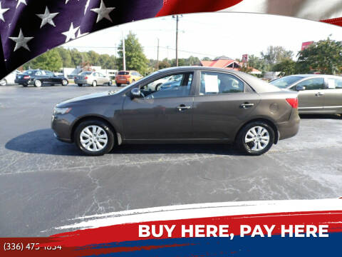 2010 Kia Forte for sale at CAROLINA MOTORS in Thomasville NC