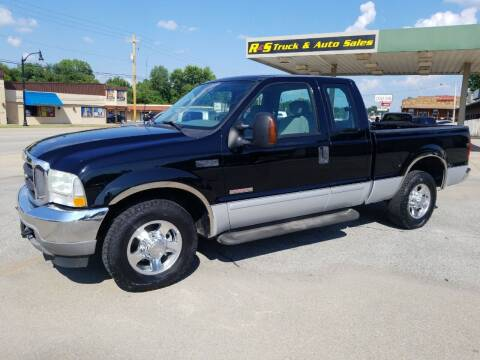 2003 Ford F-250 Super Duty for sale at R & S TRUCK & AUTO SALES in Vinita OK