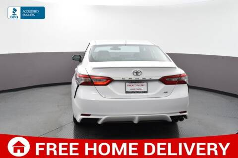2019 Toyota Camry for sale at Florida Fine Cars - West Palm Beach in West Palm Beach FL