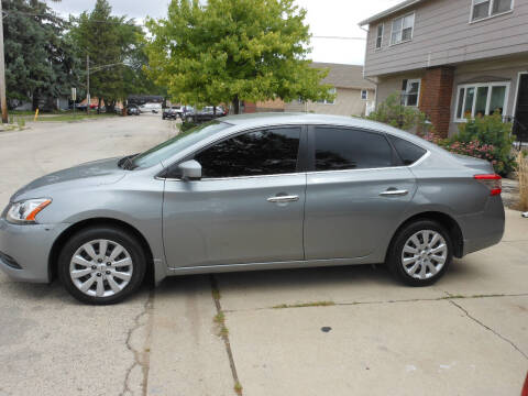 2014 Nissan Sentra for sale at Grand River Auto Sales in River Grove IL