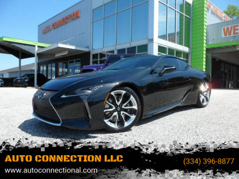 2019 Lexus LC 500 for sale at AUTO CONNECTION LLC in Montgomery AL
