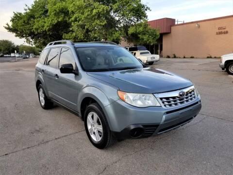 2011 Subaru Forester for sale at Image Auto Sales in Dallas TX