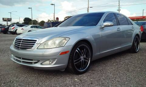 2007 Mercedes-Benz S-Class for sale at Pinellas Auto Brokers in Saint Petersburg FL