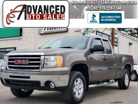 2012 GMC Sierra 1500 for sale at Advanced Auto Sales in Tewksbury MA