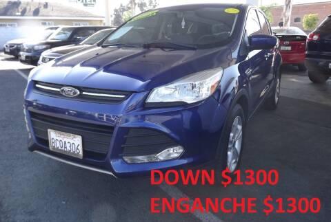2015 Ford Escape for sale at PACIFICO AUTO SALES in Santa Ana CA