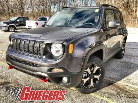 2021 Jeep Renegade for sale at GRIEGER'S MOTOR SALES CHRYSLER DODGE JEEP RAM in Valparaiso IN