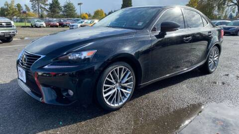2014 Lexus IS 250 for sale at Universal Auto Inc in Salem OR