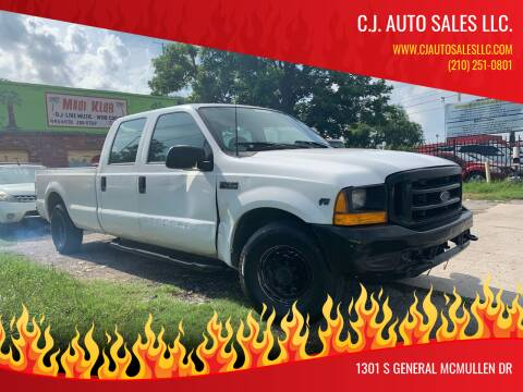 2000 Ford F-250 Super Duty for sale at C.J. AUTO SALES llc. in San Antonio TX