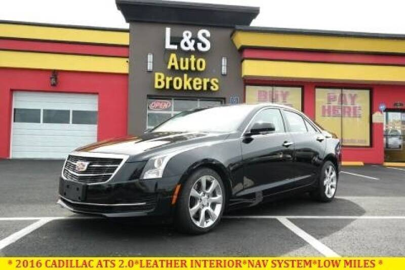 2016 Cadillac ATS for sale at L & S AUTO BROKERS in Fredericksburg VA