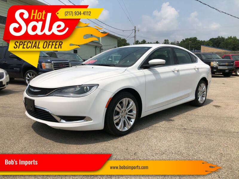 2016 Chrysler 200 for sale in Clinton, IL