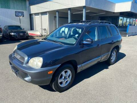 2004 Hyundai Santa Fe for sale at TacomaAutoLoans.com in Tacoma WA