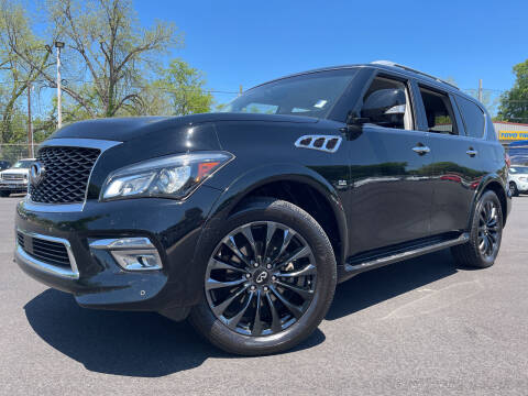2015 Infiniti QX80 for sale at Beckham's Used Cars in Milledgeville GA
