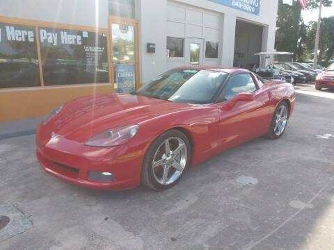 2007 Chevrolet Corvette for sale at QUALITY AUTO SALES OF FLORIDA in New Port Richey FL