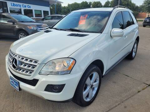 2010 Mercedes-Benz M-Class for sale at Liberty Car Company in Waterloo IA
