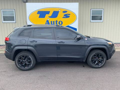 2017 Jeep Cherokee for sale at TJ's Auto in Wisconsin Rapids WI