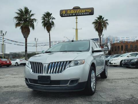 2013 Lincoln MKX for sale at A MOTORS SALES AND FINANCE - 6226 San Pedro Lot in San Antonio TX