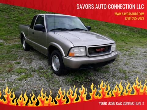 2002 GMC Sonoma for sale at SAVORS AUTO CONNECTION LLC in East Liverpool OH