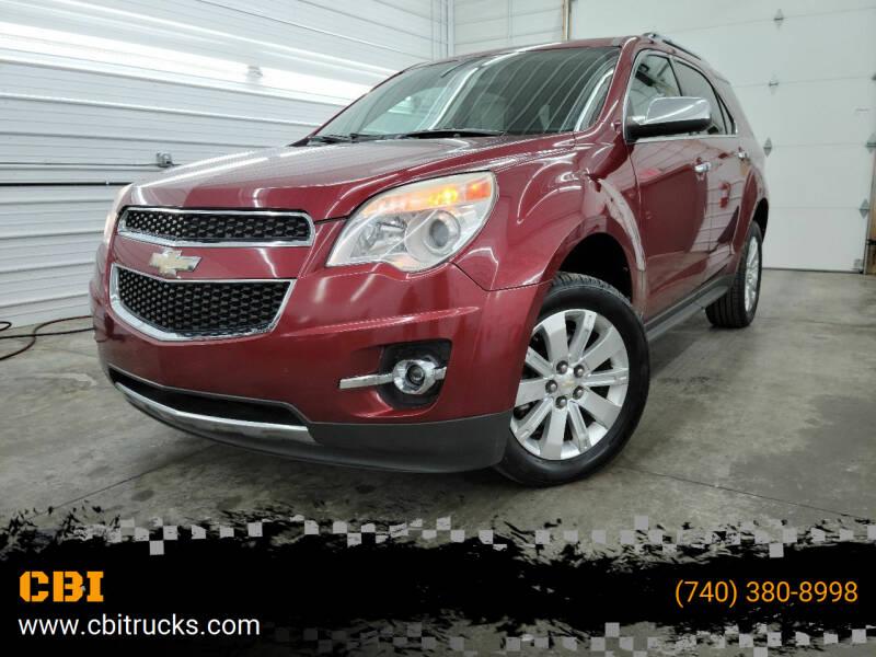 2010 Chevrolet Equinox for sale at CBI in Logan OH