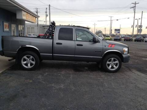 2008 Dodge Ram Pickup 1500 for sale at Kevin's Motor Sales in Montpelier OH