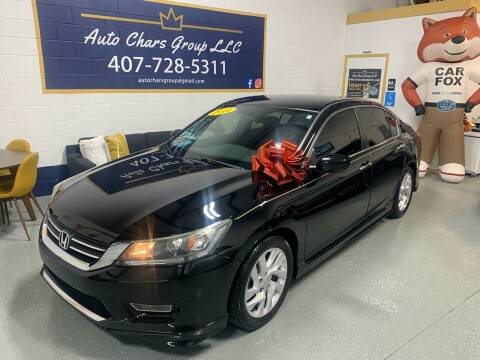 2014 Honda Accord for sale at Auto Chars Group LLC in Orlando FL