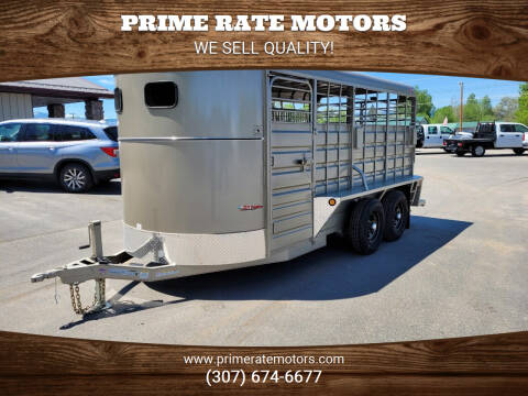 2021 GR 16' Bumper Pull Stock Combo for sale at PRIME RATE MOTORS in Sheridan WY