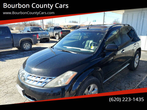 2006 Nissan Murano for sale at Bourbon County Cars in Fort Scott KS
