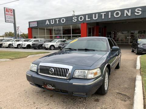 2007 Mercury Grand Marquis for sale at Auto Solutions in Warr Acres OK
