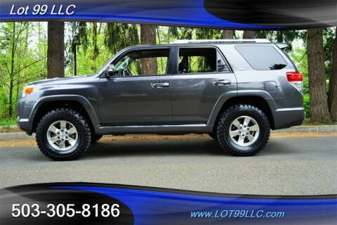 2013 Toyota 4Runner for sale at LOT 99 LLC in Milwaukie OR