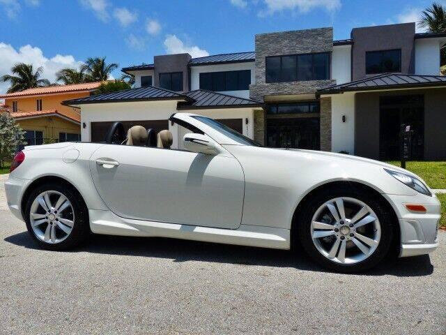 2011 Mercedes-Benz SLK for sale at Lifetime Automotive Group in Pompano Beach FL