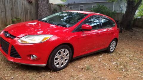 2012 Ford Focus for sale at Hometown Auto Brokers LLC in Marietta GA