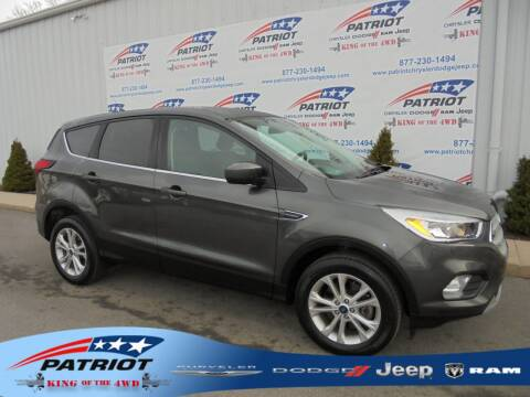2019 Ford Escape for sale at PATRIOT CHRYSLER DODGE JEEP RAM in Oakland MD
